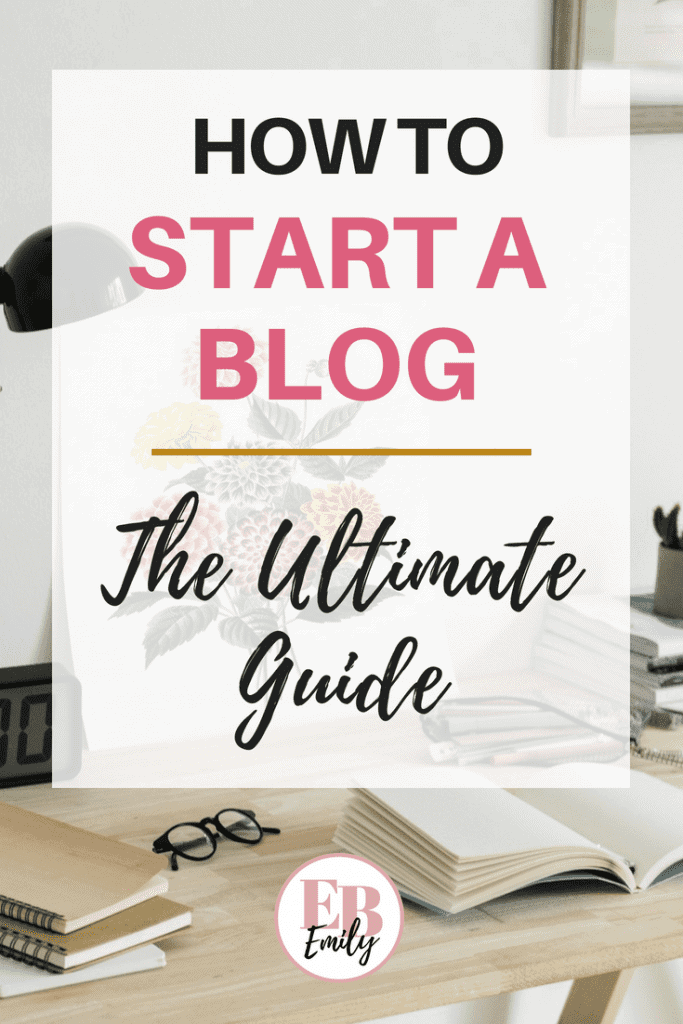 Want to know how to start a blog? Click to read the ultimate guide to start your blog today, or re-pin for inspo later.