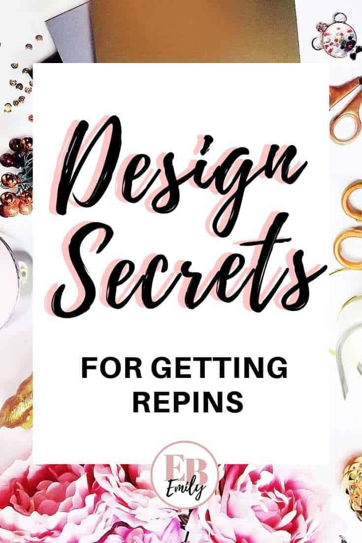 Check out these design secrets for getting repins on Pinterest. Start getting more followers now and get viral pins with these design tips for Pinterest, or repin for inspo later #designtips #pinteresttips #viralpins