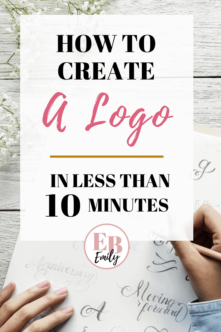 How to create a logo in less than 10 minutes