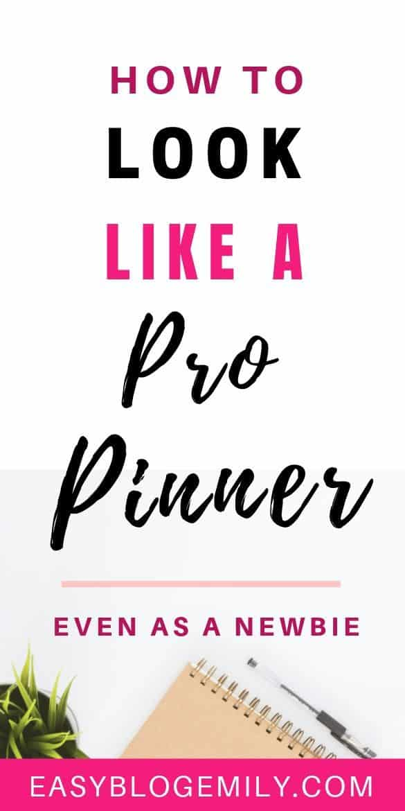 Want to look like a pro pinner even though you\'re new to Pinterest? Check out these 10 Pinterest tips to help you look like a Pinterest pro  now #pinteresttips #socialmediatips #bloggingforbeginners #propinner pinterest tips | pinterest tips for business | pinterest tips for bloggers | pinterest tips and tricks | pinterest tips how to use | Pinterest Marketing Tips | PINTEREST TIPS FOR SUCCESS |