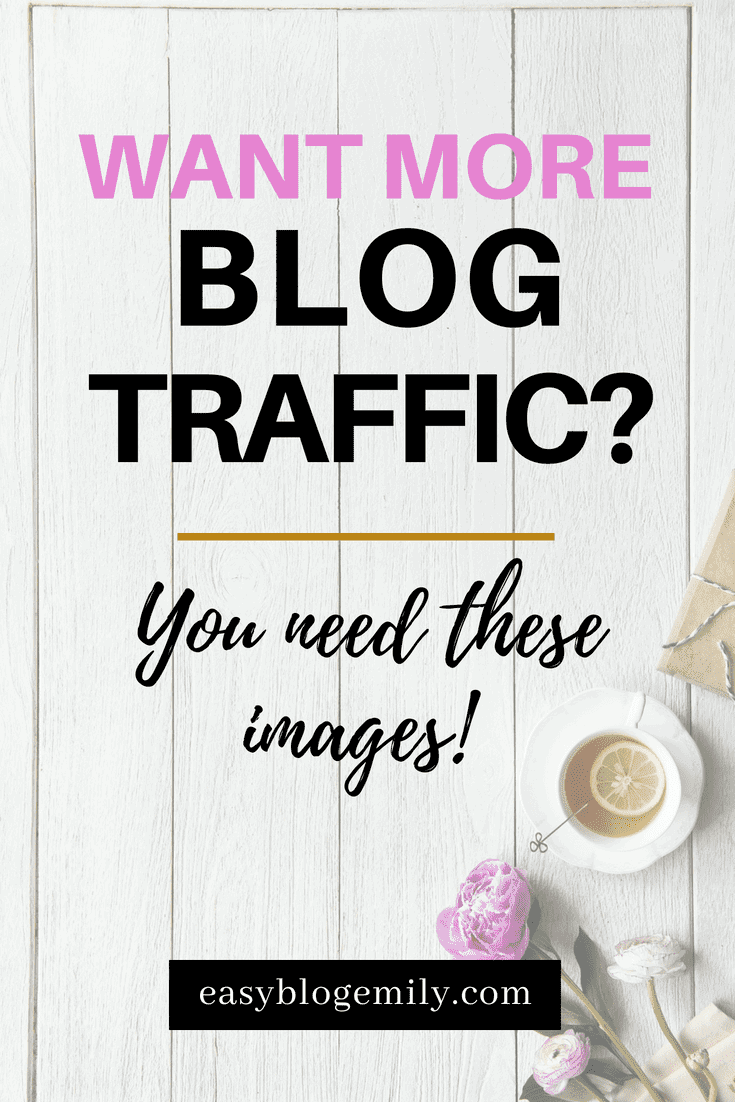 Want more blog traffic? Click to read the images your blog needs to get more traffic from Pinterest, or re-pin for inspo later.