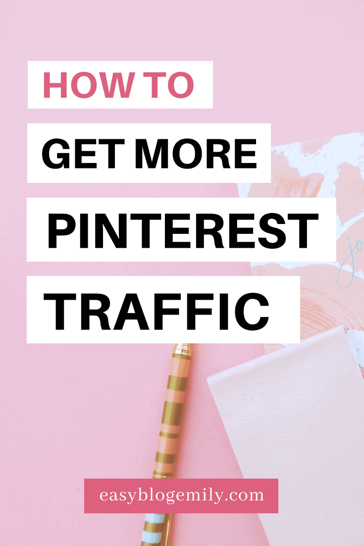 How to get more Pinterest traffic