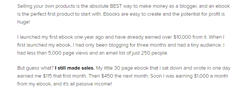 How to monetize your blog by selling products