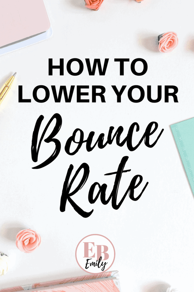 Need to lower your bounce rate? Check out this list of 20 ways to lower your bounce rate, or re-pin for inspo later.