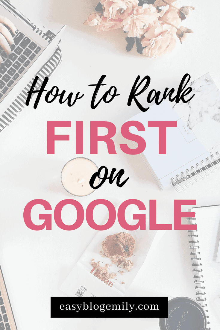 Want to rank first page on Google? Who doesn't! Check out how YOU can rank FIRST on Google today and start getting tonnes of blog traffic FOR FREE!