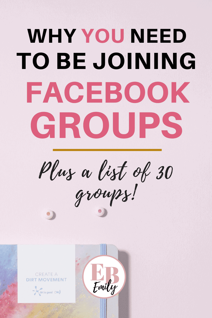 Want a free PDF of Facebook groups for bloggers? Click to read this post all about Facebook groups including what makes a good Facebook group and why you need to be joining them, or re-pin for later.