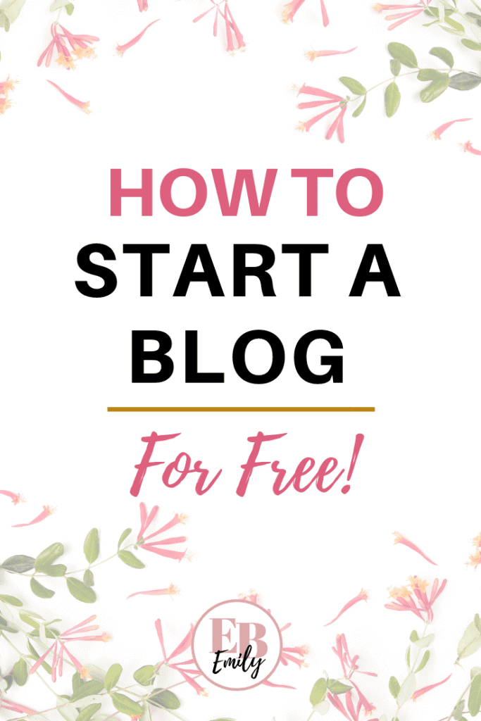 Want to know how to start a blog for free? Click to read how you can start a blog for free today. Become a blogger and learn how to start a blog for free with this start a blog for free guide, or re-pin for inspo later.