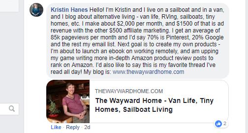 Kristin Hanes comment