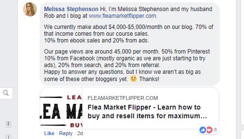 Melissa Stephenson comment