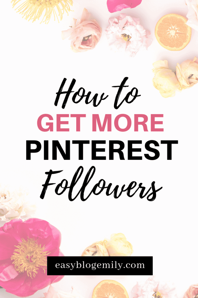 Want to know how to get more Pinterest followers? Click to read these tips on how to get your first 1000 Pinterest followers, and get more Pinterest followers today. Grow your Pinterest following with these Pinterest tips to get more followers. Get more followers, get Pinterest followers, grow your audience online. Click to read how to get followers on Pinterest, or re-pin for inspo later.