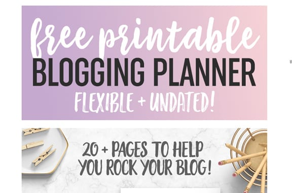 Want a free printable blog planner to help you keep track of your blogging goals and stay organised? Check out this free printable blog planner by Crissy from Dear Crissy, to keep organised when blogging and for a free blog planner, or re-pin for inspo later #blogplanner #freeprintables #blogtips