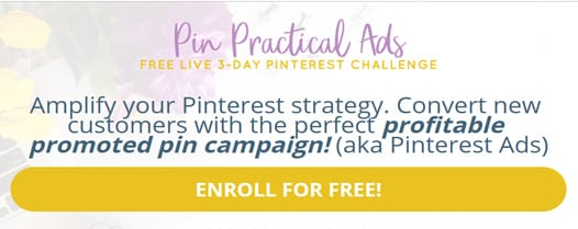 Want to learn how to use adverts on Pinterest? And to make pin ads that convert? Click to check out this online course Pin Practical ads by Redefining Mom, or repin for inspo later #Pinteresttipd #bloggingcourses #socialmediamarketing