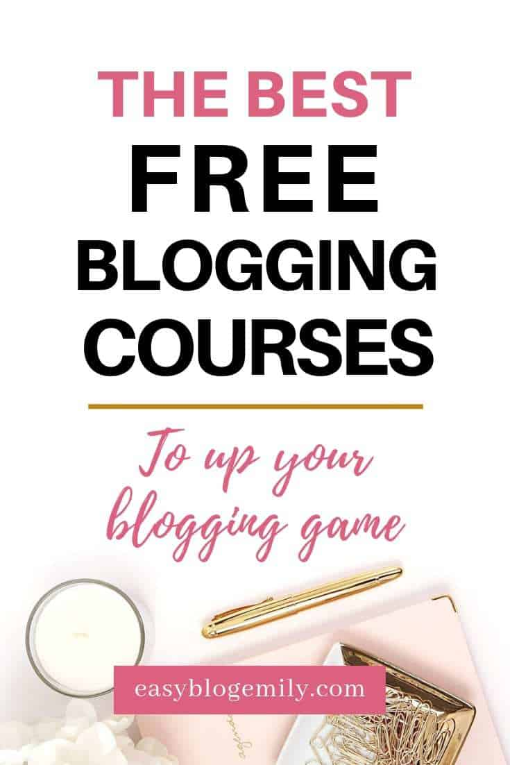 Want to become a blogger? Check out this list of the best free blogging courses, tools and resources to help you start a successful blog today. Click to find out the best blogging courses that are free now, or repin for inspo later #bloggingtips #freebloggingcourses #bloggingforbeginners