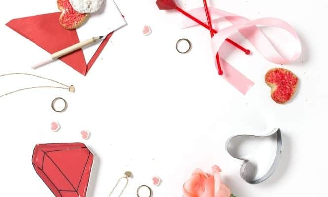 Valentine's Day blog post ideas featured image