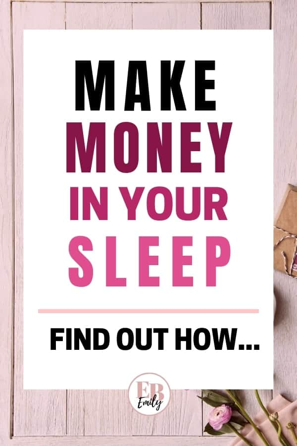 MAKE MONEY IN YOUR SLEEP (Find out how...)