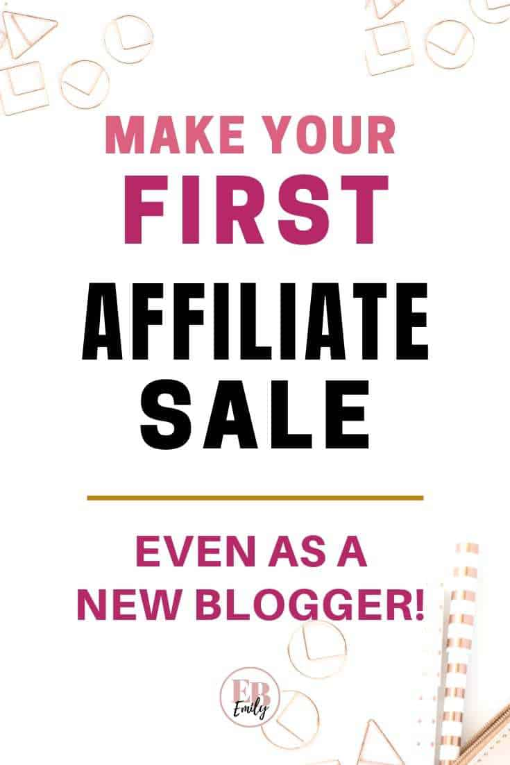 Want to make an affiliate sale today? Check out this post for tips on how to get started with affiliate marketing and make money online. Read this step by step guide for making money with affiliate marketing, to monetise your blog and start making a passive income, or repin for inspo later #affiliatemarketing #passiveincome #bloggingtips #makemoneyonline