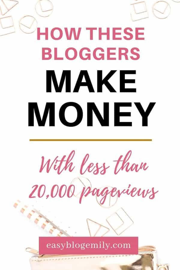 Want to make money blogging? Check out how these bloggers make money with small blogs. Monetise your blog and start earning money online today no matter how small your audience is #makemoney #workfromhome #sideincome #bloggingforbeginners make money blogging | make money blogging for beginners | make money blogging uk | make money blogging passive income | make money blogging affiliate marketing | Make Money Blogging |  How to Start a Blog | Blogging for Beginners MAKE MONEY BLOGGING |