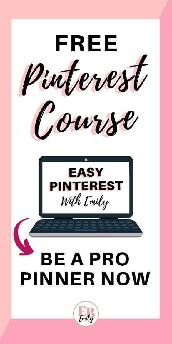 Free Pinterest course (be a pro pinner now)