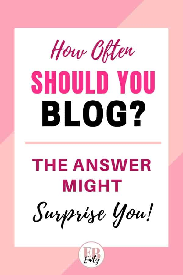 How often should you blog?