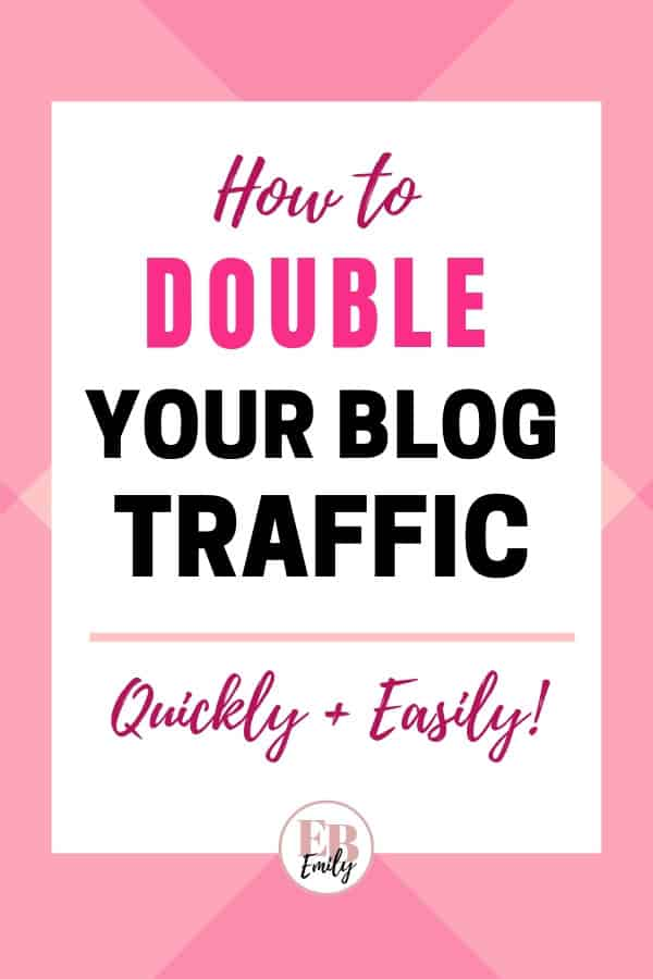 How to double your blog traffic