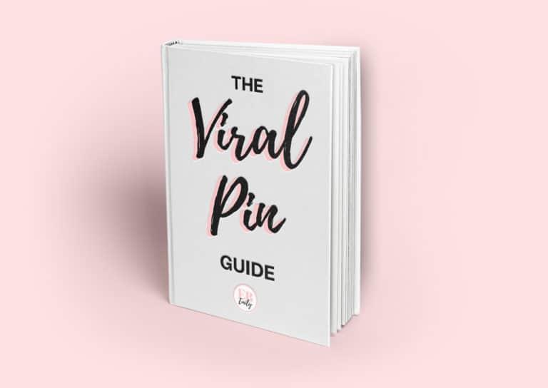 The viral pin guide mockup