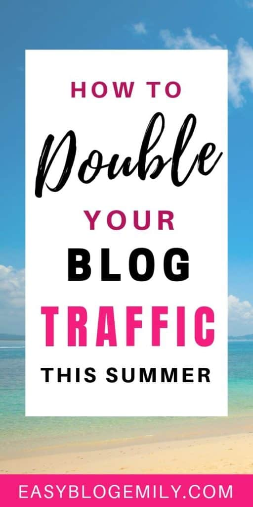 Want to know how to grow your blog this summer? Click to read these blog growth tips to start getting more blog traffic now #blogtraffic #bloggingforbeginners #growyourblog #blogtrafficincrease blog traffic tips | blog traffic increase | blog traffic pinterest | blog traffic with pinterest | blog traffic tips online business | Bloggers Traffic Community | Blog Traffic | Social Media | Blog Traffic + SEO Tips/Growth | Blog Traffic from Pinterest | grow your blog fast | grow your blog | grow your blog traffic | grow your blog with pinterest | grow your blog using pinterest | Grow Your Blog and Pinterest | | Blogging Simplified | Grow Traffic and Monetize your Passion | Blog Intentionally | Start and Grow Your Blog Successfully + Earn Money | Grow Your Blog! |